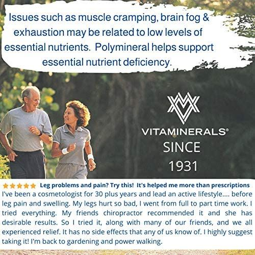 VITAMINERALS 16 Polymineral Comprehensive Mineral Formula (90)