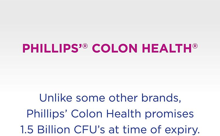 Phillips Colon Health - Probiotics Capsules - Immune Support - Helps Defend Occasional Gas, Bloating, Constipation, & Diarrhea - 60 Count