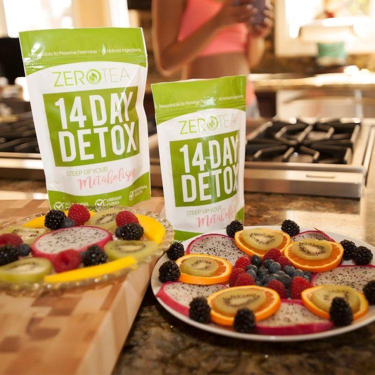 Zero Tea 14 Day Detox Tea, Teatox Herbal Tea for Cleanse