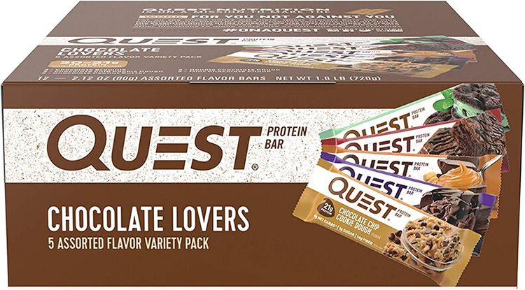 High Protein, Low Carb, Gluten Free, Keto Friendly, Pack of 12.