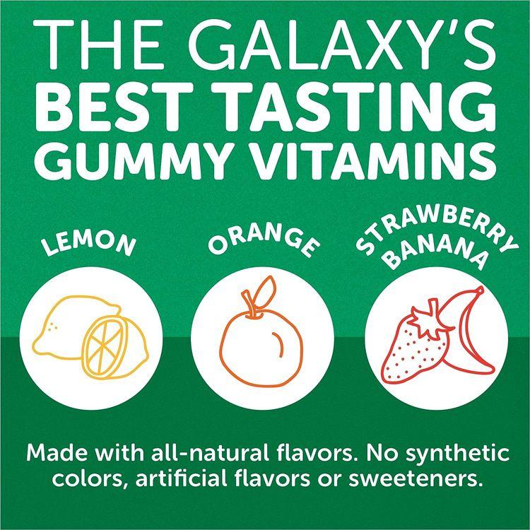 SmartyPants Kids Formula & Fiber Daily Gummy Multivitamin: Fiber for Digestive Health, Vitamin C, D3, & Zinc for Immunity, Omega 3 Fish Oil (EPA & DHA), B6, Methyl B12, 120 Count