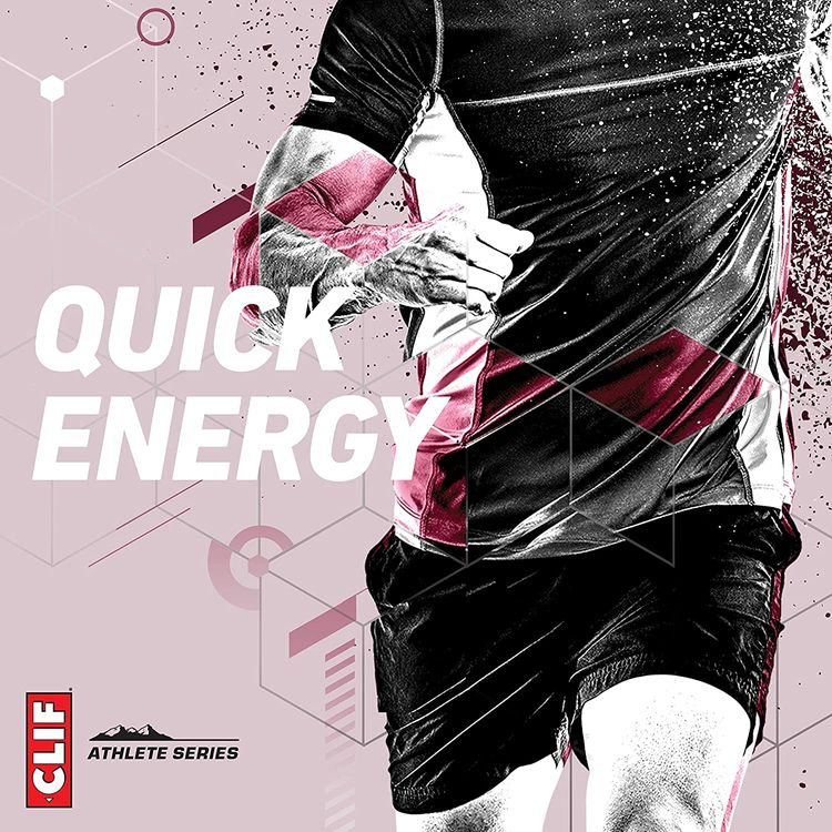 CLIF BLOKS Energy Chews - Black Cherry with 50mg Caffeine - Non-GMO - Plant Based Food - Fast Fuel for Cycling and Running-Workout Snack (2.1 Ounce Packet, 18 Count)