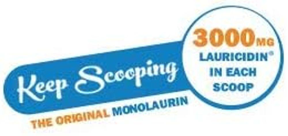 Lauricidin®- The Original Monolaurin Supplement- 3000mg per Serving- 227g per Jar