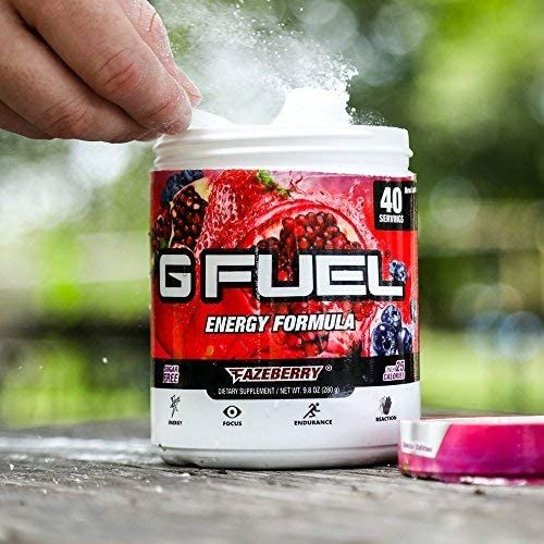 G Fuel Fazeberry Tub (40 Servings) Elite Energy and Endurance Powder