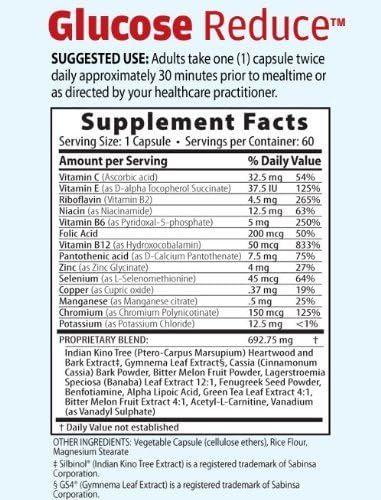 Glucose Reduce (30 Day Supply)