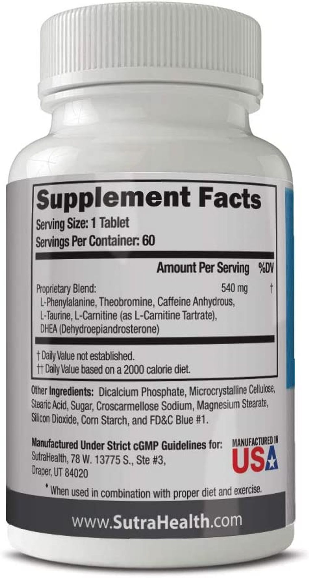 PhenAprin Diet Pills – Best Appetite Suppressant: Weight Loss and Energy Boost for Metabolism – Optimal Fat Burner Supplement; Helps Curb and Control Appetite, Promotes Mood & Brain Function