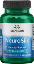 Swanson Neurosilk with Brain Factor-7 200 Milligrams 60 Capsules