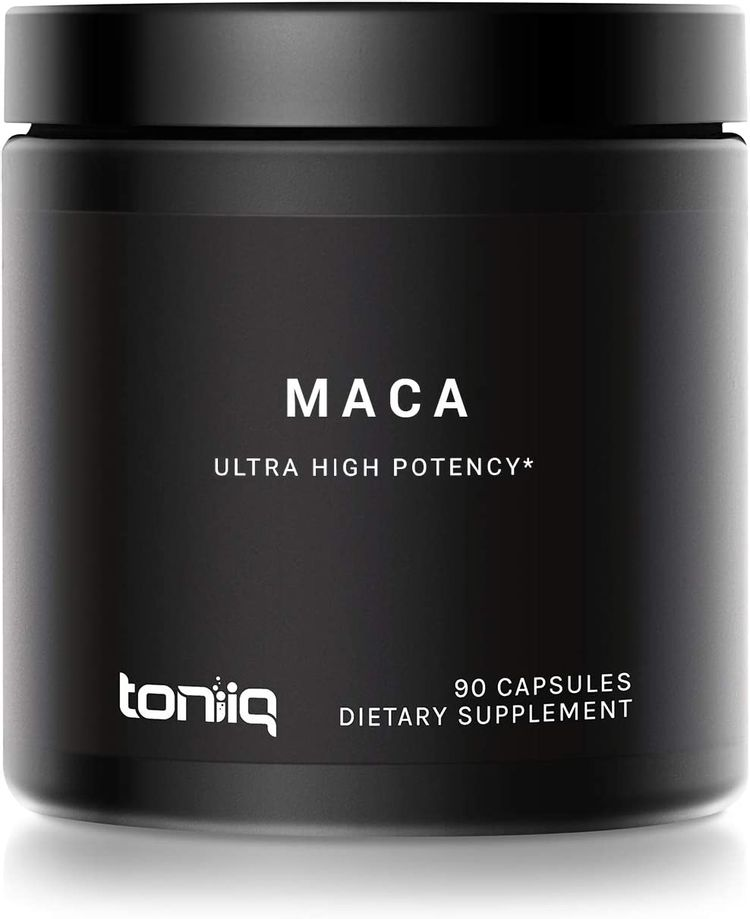 Single Origin Wildcrafted Maca Root Capsules - Ultra High Strength - 10,000mg 20x Concentrated Extract - Highly Purified Peruvian Maca Root Powder - Gelatinized Black, Red and Yellow Complex