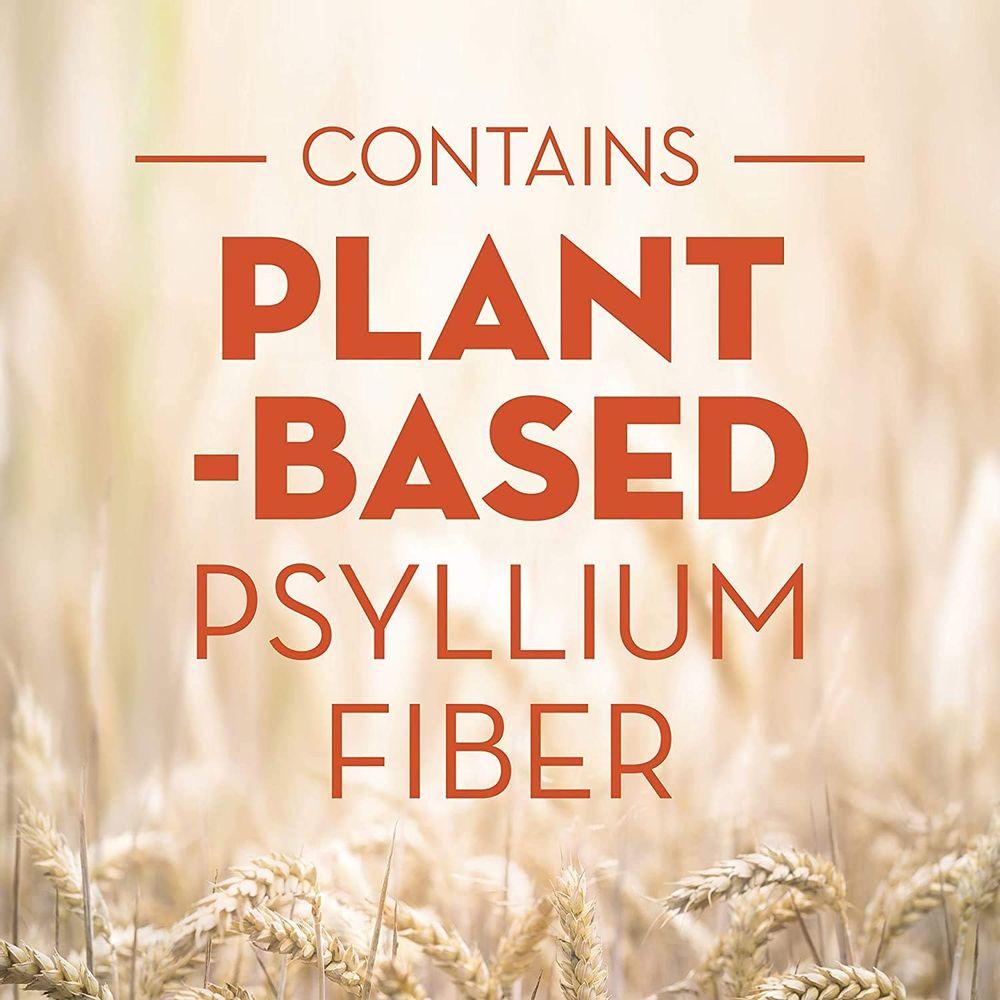 Metamucil Sugar-Free Fiber Supplement, 180 Servings, 4-in-1 Psyllium Husk Powder, Orange Smooth Sugar Free, 36.8 Ounce, 2.3 Pound (Pack of 1)