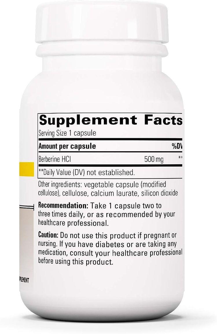 Integrative Therapeutics - Berberine - 500 mg Berberine HCL Supplement for Healthy Blood Sugar and Insulin Metabolism - Vegan - 60 Capsules