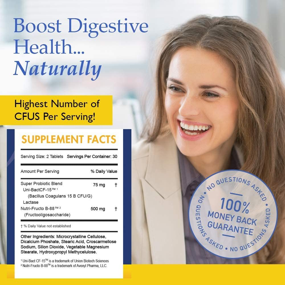 Nutrition Essentials Top Probiotic Supplement - 900 Billion CFU Probiotics - Best Acidophilus Probiotic for Women and Men - Organic Shelf Stable Probiotic for Digestive Health