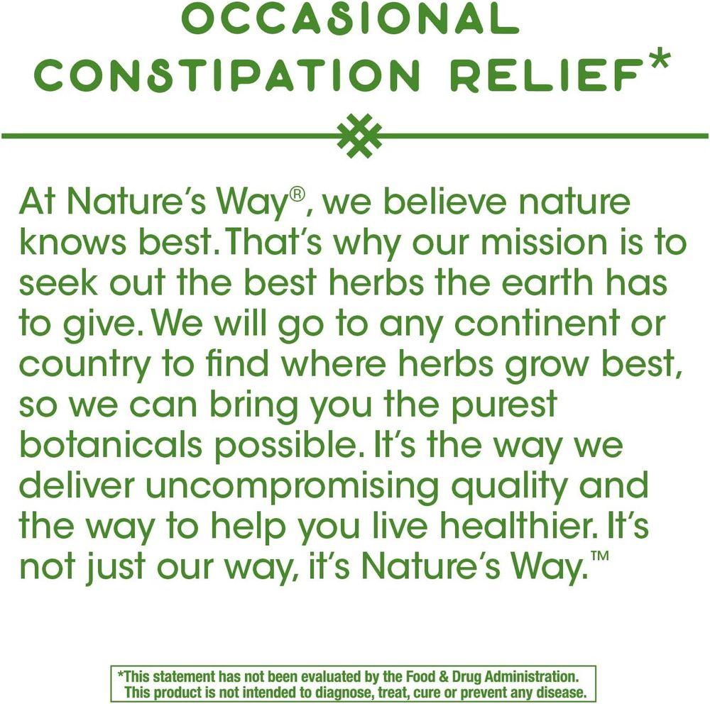 Nature's Way Cascara Sagrada Bark, 270 mg per serving, 180 Vegetarian Capsules