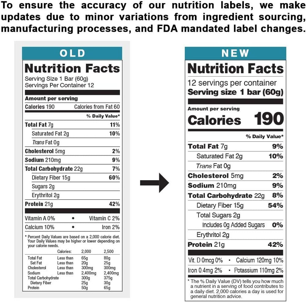 Quest Nutrition Protein Bar Low Carb Gluten Free, Blueberry Muffin 12 Count