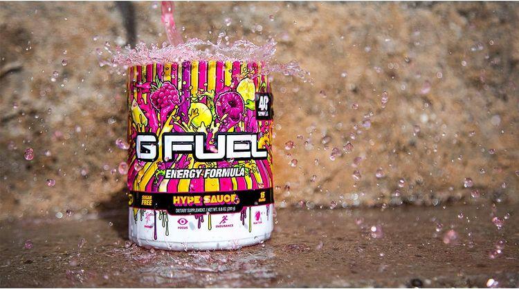 G Fuel Hype Sauce (40 Servings) Elite Energy and Endurance Powder 9.8 oz.