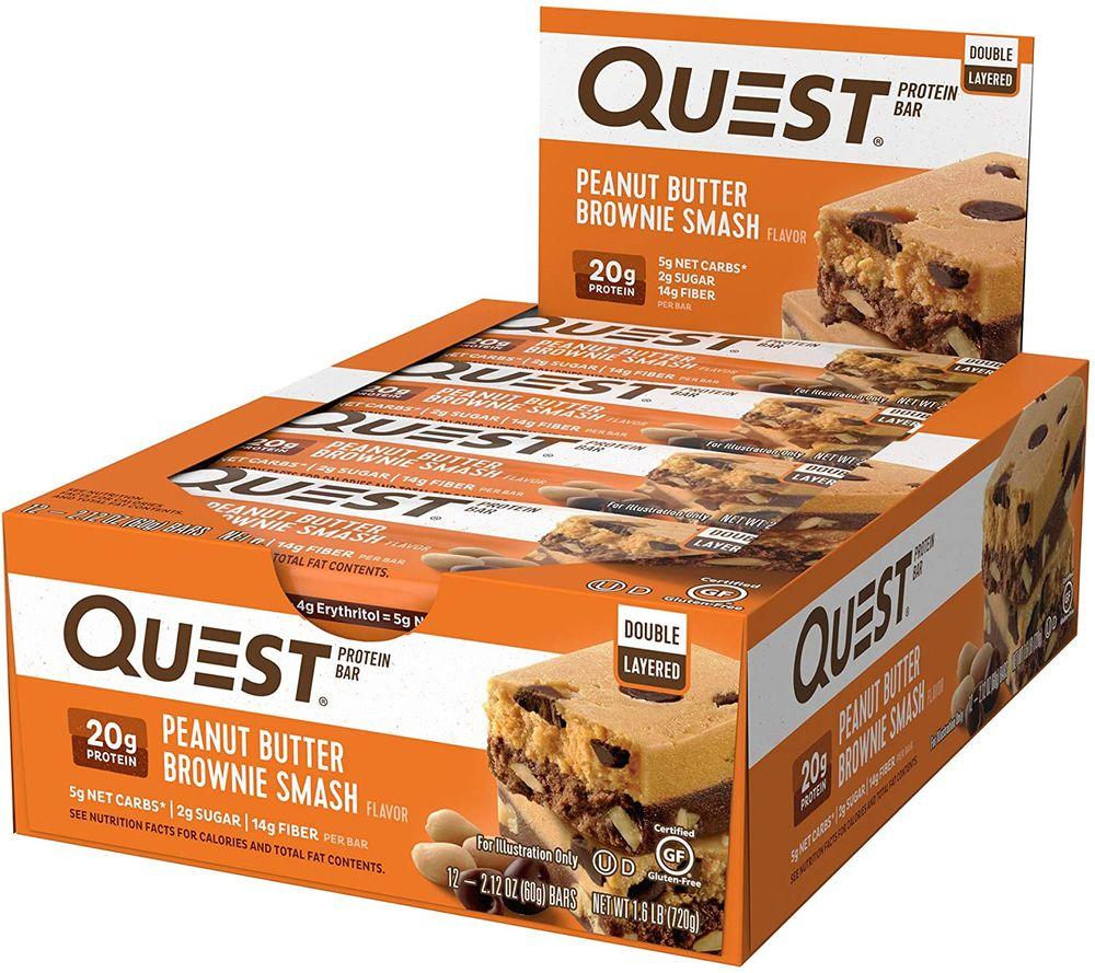 Quest Nutrition- High Protein, Low Carb, Gluten Free, Keto Friendly, 12 Count
