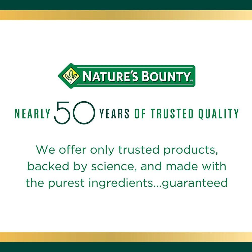 Calcium Carbonate & Vitamin D by Nature's Bounty, Supports Immune Health & Bone Health, 600mg Calcium & 800IU Vitamin D3, 250 Tablets