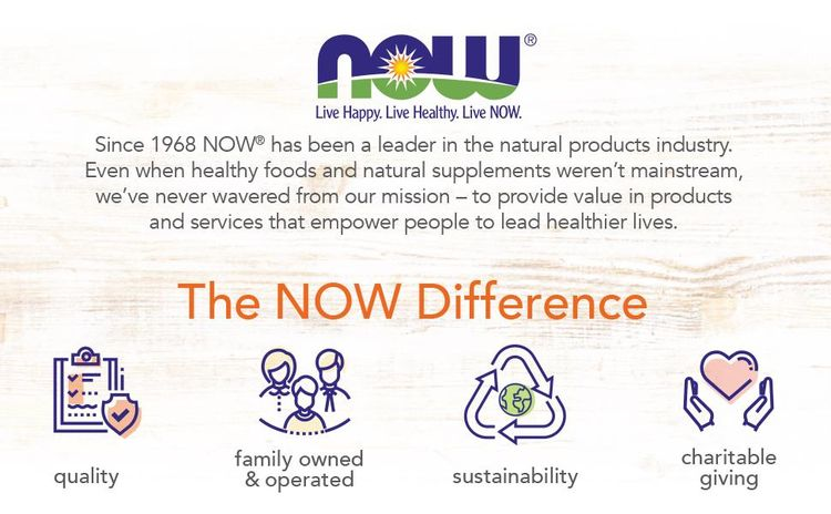 now difference leader natural products