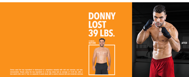 Donny Lost 39 lbs.