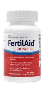 supplement fertility tea women volumizer boost vitamin volume pill blend men conception transform