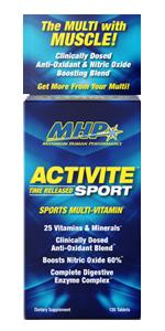 sport multi vitamin mhp strong activite maximum human performance