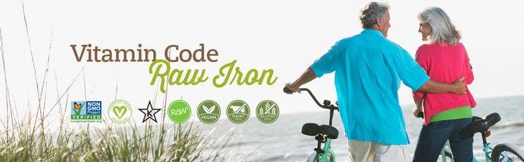 Vitamin Code RAW Iron