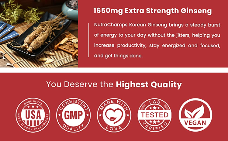 extra strength ginseng root powder extract