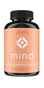 MIND focus & memory formula