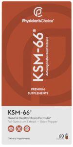 Physician's Choice KSM-66 Ashwagandha Extract
