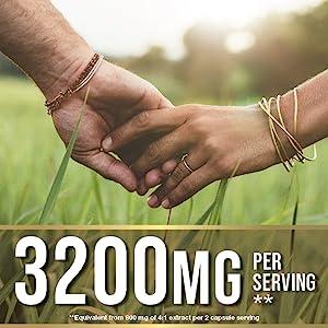 3200mg per serving