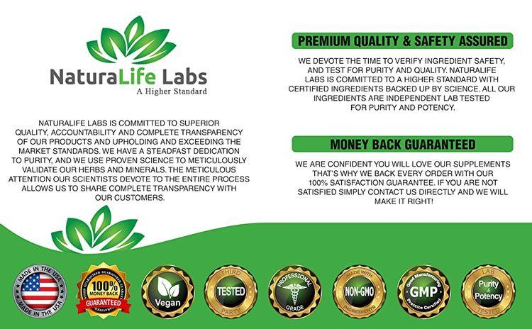 NaturaLife Labs a higher standard