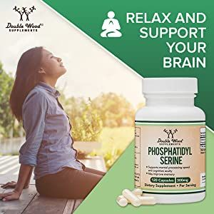 phosphatidylserine capsules for relaxation and stress