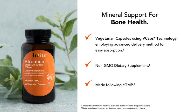 Mineral support for bone health