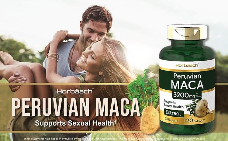 horbaach peruvian maca supports sexual health