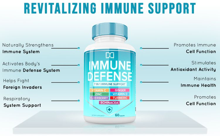 immune defense system antioxidants respiratory function cell growth cold virus flu infection
