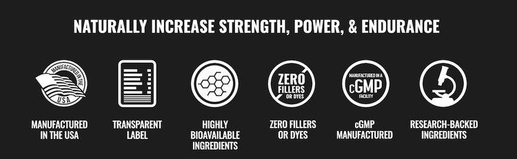 Naturally Increase Strength, Power, & Endurance
