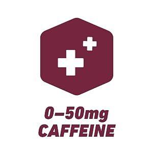 0-50mg Caffeine