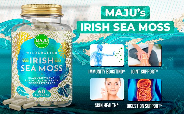 Irish Sea Moss Capsules