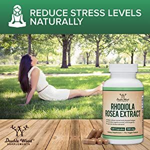 reduce stress levels naturally with rhodiola