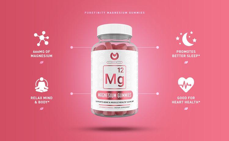 purefinity magnesium gummy benefits