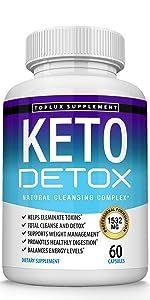Keto Detox supplement toplux pus
