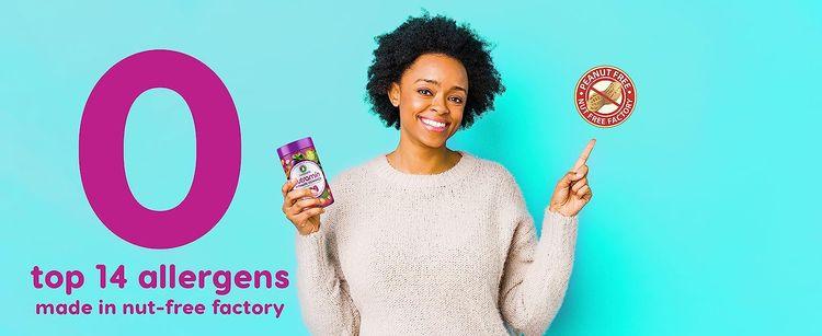 womens chewable vitamins daily women gummies allergy allergen free hypoallergenic nut-free allergies