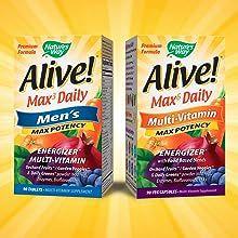Men's Max3 & Adult Max6 Formulas