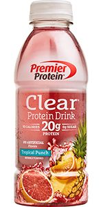 Premier Protein, 20g Protein, Clear Protein