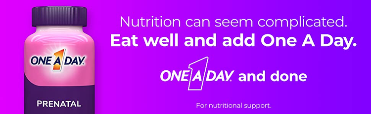 prenatal one a day nutrition