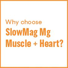 slowmag magnesium chloride calcium muscle function dietary supplement heart nerves