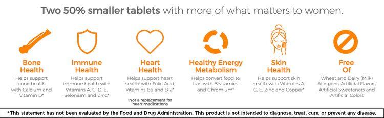 bone health, immune health, heart health, healthy energy metabolism, skin health, free of