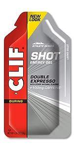 shots, energy, running, cycling, snacks, workouts, caffeine