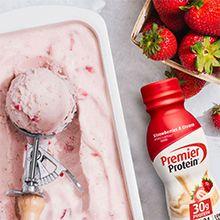 Fruity, Ice Cream, Premier Protein shakes, 30g Protein