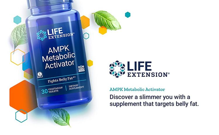 AMPK Metabolic Activator, Fat loss, Weight Loss, Appetite suppressant, Life Extension,