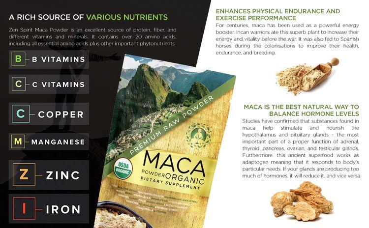 organic maca powder raw